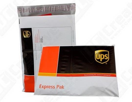 UPS DHL express kantong plastik