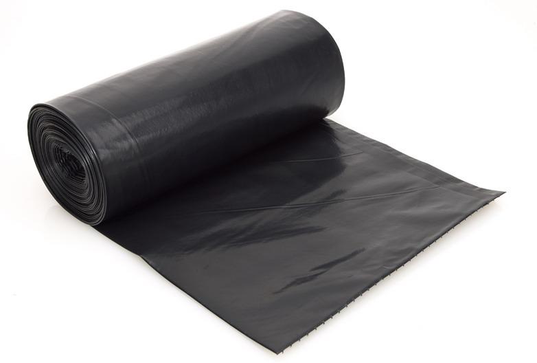 Black Bin Bags On Roll