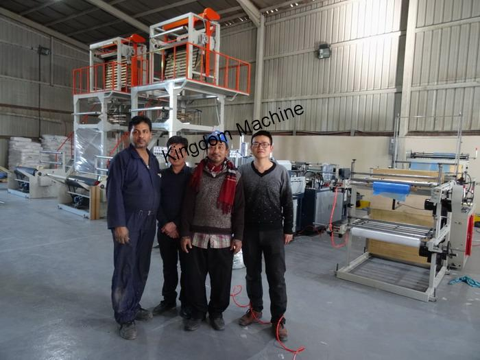 Install Plastic Bag Machine Lines In Saudi Arabia